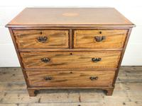 Edwardian Crossbanded Mahogany Chest of Drawers (2 of 9)