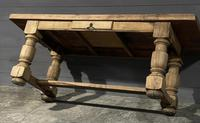Rustic French Oak Farmhouse Kitchen Dining Table (10 of 16)