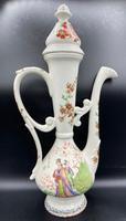Antique Porcelain Ewer Aşurelik - Ibrik for an Turkish Market / Chinese Influence (4 of 18)