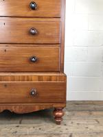 Antique Large Victorian Mahogany Chest of Drawers (6 of 9)
