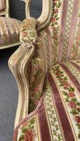 Lovely Pair of French Bergere Chairs (2 of 4)