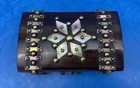 Victorian Brassbound French Rosewood Trinket Box (2 of 11)
