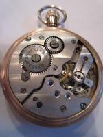 Fine George V Period 9 Carat Gold Pocket Watch (9 of 9)