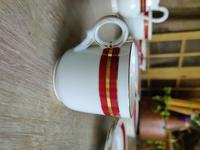 Stylish 22 Piece Coalport Porcelain Coffee Set (6 of 8)