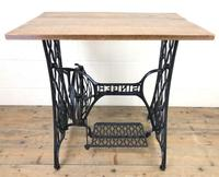 Singer Sewing Machine Treadle Table (10 of 10)