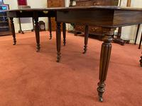 Good Early 19th Century Solid Mahogany Extending Dining Table (3 of 5)