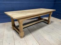 Good Looking Bleached Oak Farmhouse Dining Table (6 of 17)