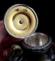 Antique French Inkwell, Storks & Snakes (6 of 12)