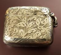 Victorian Sterling Silver Vesta Case (2 of 3)