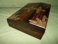 QUALITY Betjemann Coromandel Writing Box. 100% Original c1870 (10 of 15)
