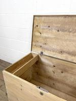 Antique Pine Trunk or Storage Chest (8 of 10)