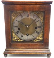 Miniature Lenzkirch Chiming Mantel Clock German Westminster Chime Bracket Clock (8 of 11)