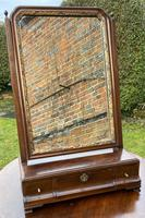 18th Century Cuban Mahogany Dressing Table Mirror (4 of 7)