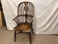 High Back  Elm / Ash Windsor Carver Chair (2 of 4)