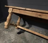 Large Refectory Bleached Oak Farmhouse Table (5 of 17)