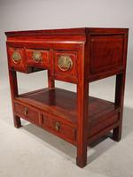 Attractive Late 19th Century 5 Drawer Side Table (3 of 4)