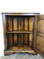 Early 20th Century Oak Corner Cupboard (5 of 8)