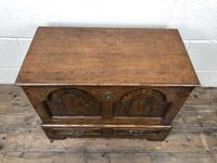 Antique 18th Century Style Welsh Oak Coffer Bach (3 of 14)
