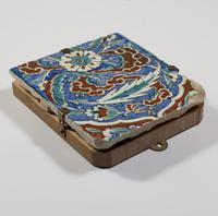 Ottoman Iznik Border Tile c.1580 (2 of 3)