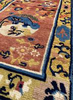 Antique Chinese Ningxia Rug 1.59m x 0.74m (5 of 9)