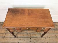 Antique Oak Side Table (2 of 9)
