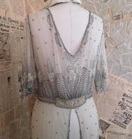 Vintage 1920's beadwork dress, Art Deco (18 of 20)