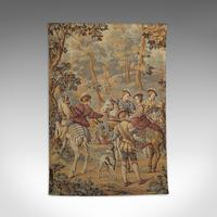 Antique Verdure Tapestry, French, Decorative Panel, Wall Covering, Victorian (11 of 12)