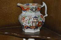 19th Century Real Stone China Jug with Chinoiserie Decoration (4 of 11)