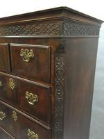Chippendale Tallboy Chest of Drawers (10 of 11)