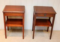 Pair of Edwardian Style Mahogany Tables (8 of 10)