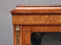 19th Century Walnut & Marquetry Pier Cabinet (9 of 11)
