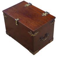Gothic Revival 19th Century Mahogany Despatch Box Pugin (3 of 6)