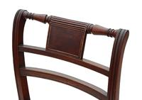 Georgian Quality Set of 8 Mahogany Dining Chairs c.1800 (5 of 8)