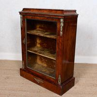 Pier Cabinet Inlaid Walnut 19th Century (5 of 13)