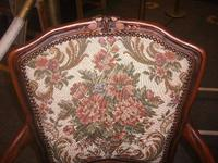 Continental Style Needlepoint Arm Chair (2 of 3)