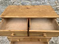 Antique Pine Chest of Drawers (11 of 17)