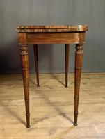Superb French Rosewood Fold-over Top Card Table (4 of 14)