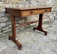 Antique Regency Mahogany Library Table (4 of 14)
