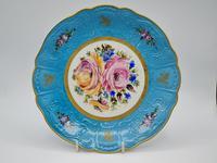 Vintage German Porcelain Plates / Chargers Bavarian /Set of Three (12 of 32)