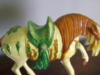 Early 20th Century Chinese Tang Horse Sancai Glaze (5 of 6)