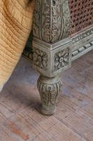 Magnificent French Caned Kings Size Marriage Bed (9 of 13)