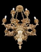 Late 19th Century Eight Arm Chandelier (4 of 6)