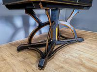 19th Century Art & Crafts Library Table (12 of 12)
