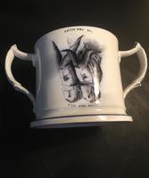 19th Century Staffordshire Crimea War Loving Cup