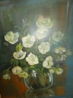 Oil Painting Vase of Flowers (3 of 7)