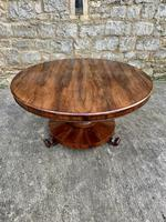 English Regency Rosewood Round Centre Table (3 of 7)