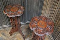 Decorative Pair of Indian Table Stands (3 of 6)
