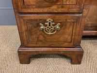 18th Century Burr Walnut Kneehole Desk (10 of 14)
