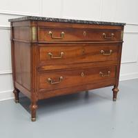 Early French Walnut Chest of Drawers c1790 (7 of 7)