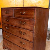Georgian Chest of Drawers Mahogany Country Tallboy George IV (6 of 11)